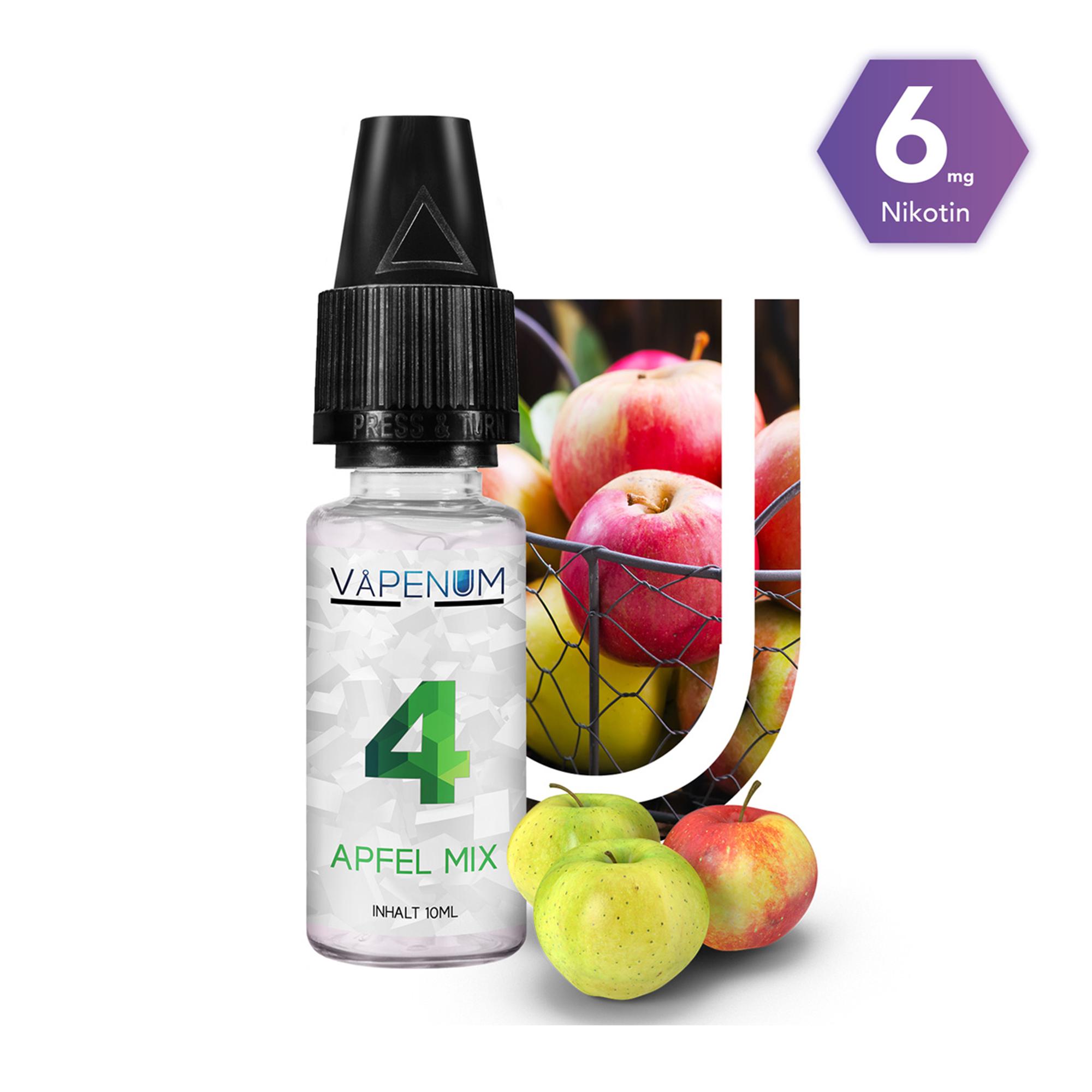 4 - Apfel Mix  Liquid by Vapenum 6mg