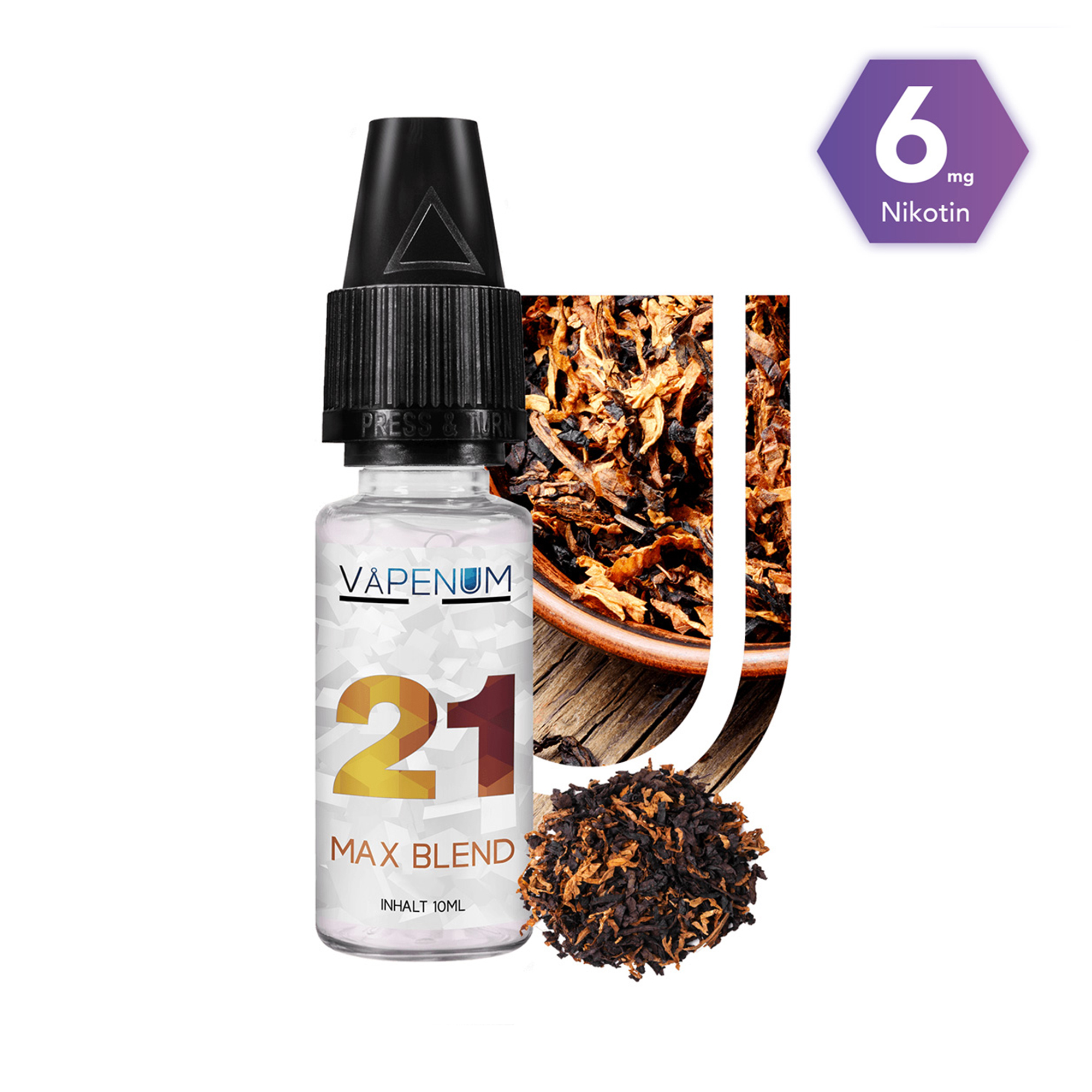 21 - Max Blend Liquid by Vapenum 6mg