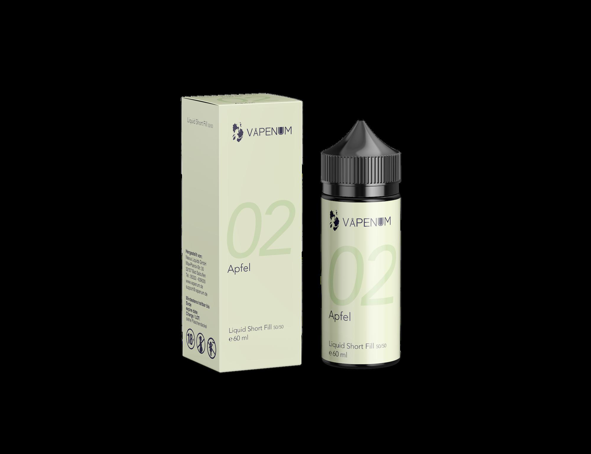 Vapenum Shortfill 02 - Apfel