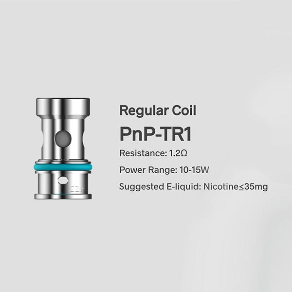 Voopoo PnP Coil Verdampferkopf Ohm: PnP-TR1 1,2 Ohm