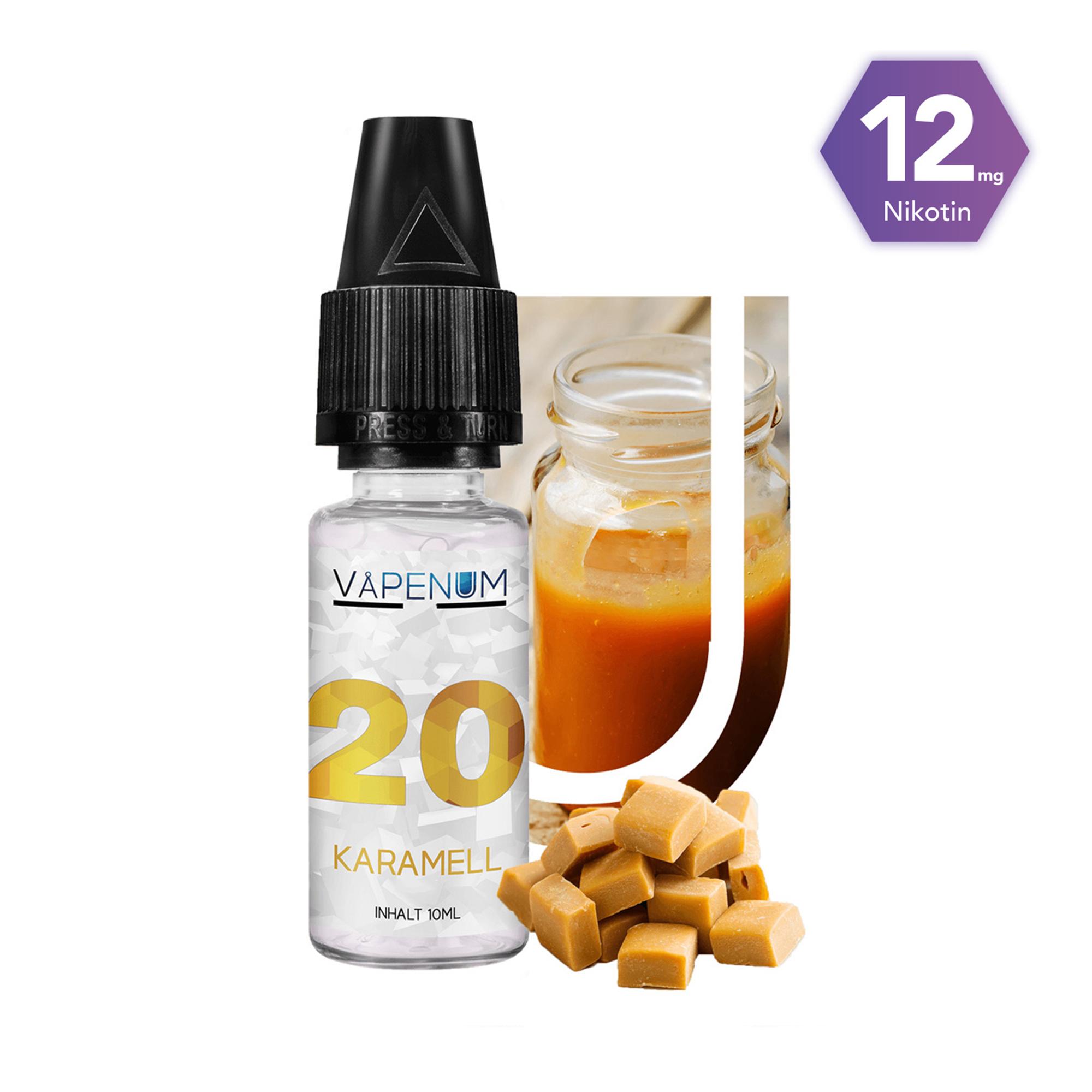 20 - Karamell Liquid by Vapenum 12mg