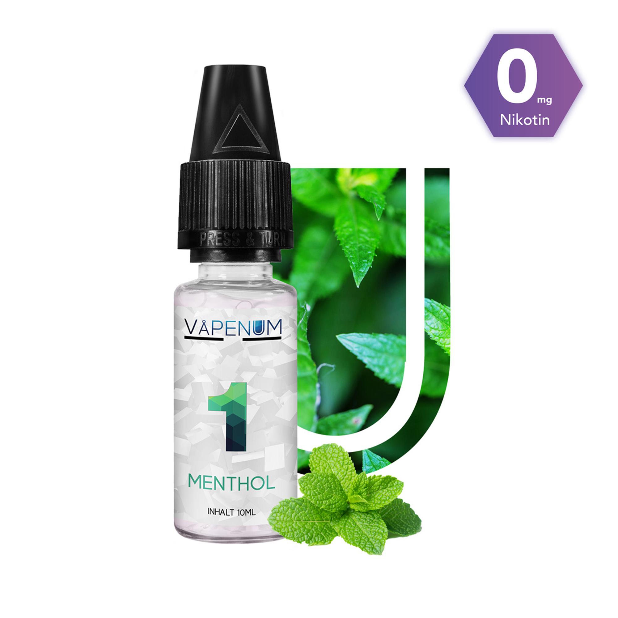 1 - Menthol Liquid by Vapenum 0mg